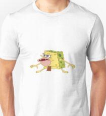 Spongebob Caveman Meme  Unisex T-Shirt