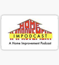 Home Impodcast Sticker Sticker