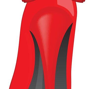 Red Heels by wildserenity