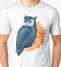 Blossoming owl Unisex T-Shirt