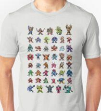 MegaMan 1to6 Robot Masters T-Shirt