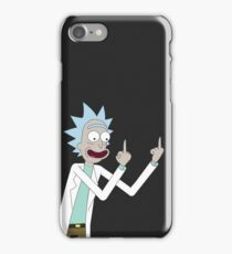 Rick from Rick and Morty  iPhone Case/Skin