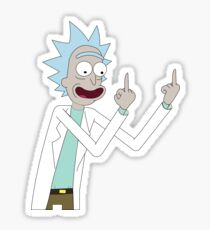 Rick from Rick and Morty  Sticker