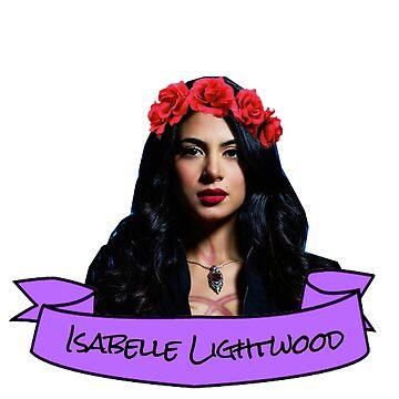 isabelle flower crown sticker by lunalovebad