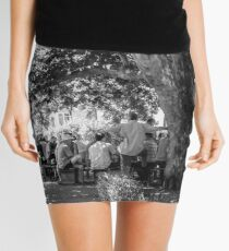 The afternoon gathering Mini Skirt