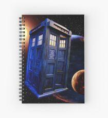 Time Flight 3 Spiral Notebook