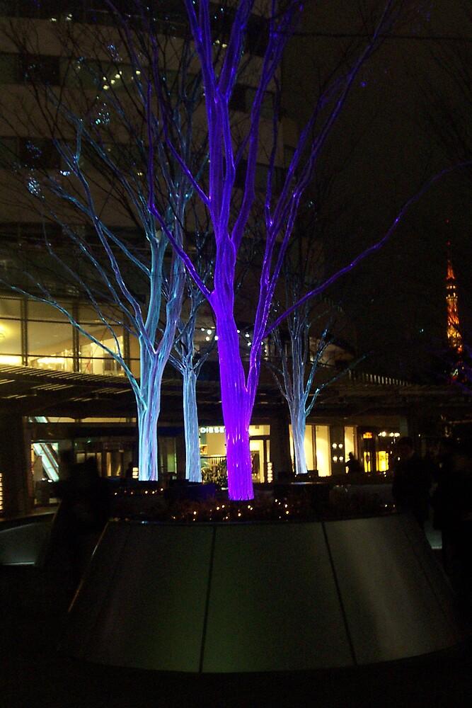 Tokyo Trees by Linda Mottram