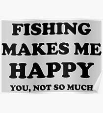 Happy Fishing Poster