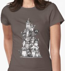 Bully-Stapel I Bully-Pyramid I Bulldogs I Pugs I Boston Terrier T-Shirt