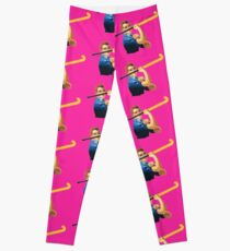 We Can Do It! Field Hockey! Leggings