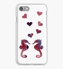 Seahorse Couple iPhone Case/Skin