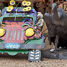 Jeep And The Vulture by phil decocco