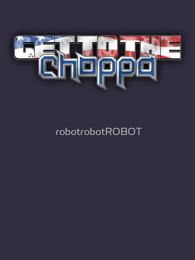 American (Get to the) CHOPPA! by robotrobotROBOT