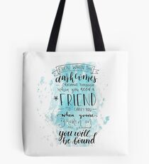 You Will Be Found- DEH Tote Bag