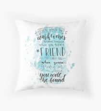 You Will Be Found- DEH Throw Pillow