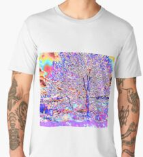 Psychedelic Sunset Men's Premium T-Shirt
