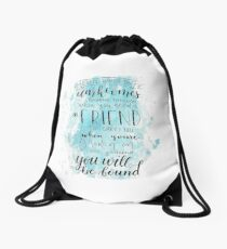 You Will Be Found- DEH Drawstring Bag