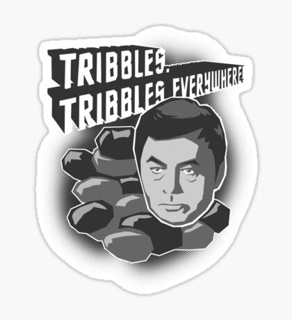 Tribbles. Tribbles Everywhere! Sticker