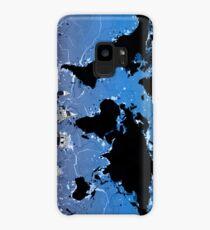 world map Case/Skin for Samsung Galaxy