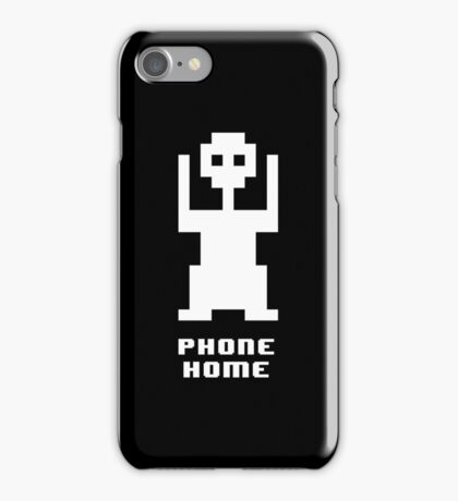 8 Bit Extra Terrestrial  iPhone Case/Skin