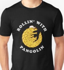 Rollin' With Pangolin Unisex T-Shirt