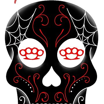Red Cali Skull by AuthenticDesign