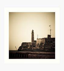 Castillo del Morro Art Print
