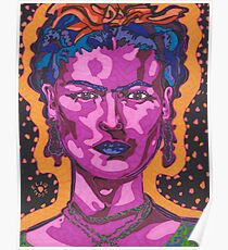 The Inspiration of Frida Kahlo Poster