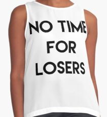 No Time For Losers Contrast Tank