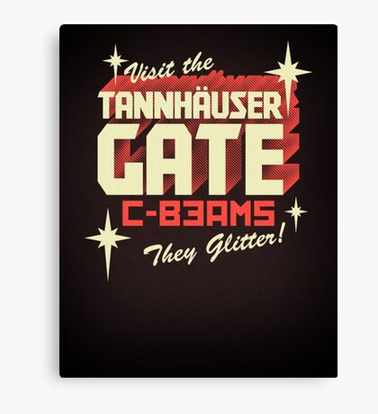 Tannhäuser Gate Canvas Print