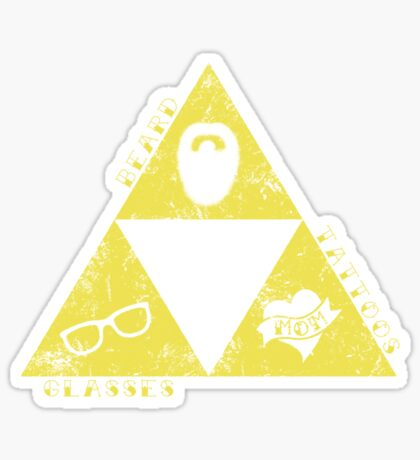 The Real Triforce Sticker