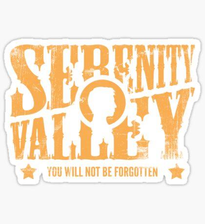 Serenity Valley Sticker