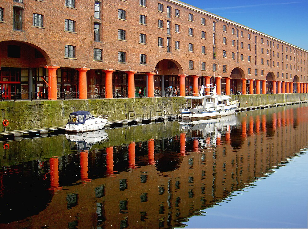 Reflections at Albert Dock 3 by Paul Reay
