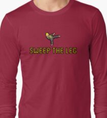 Sweep the Leg Long Sleeve T-Shirt