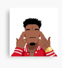 21 Savage Canvas Print