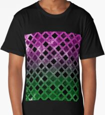 Abstract Geometric Background #7 Long T-Shirt