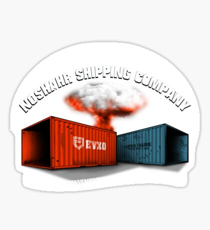 Noshahr Shipping Company Sticker