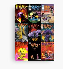 The Maxx Covers Canvas Print