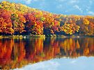 Autumn at the Lake by FrankieCat