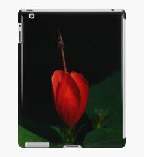 Lonely Hibiscus iPad Case/Skin