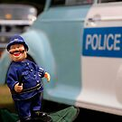 Laughing policeman by Classicperfection