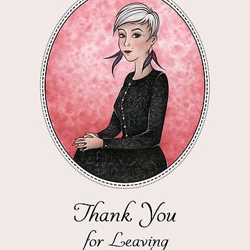 Thank You For Leaving by OzureFlame