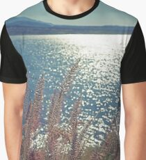 Roosevelt Lake in Color Graphic T-Shirt