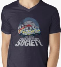 The Self Preservation Society Men's V-Neck T-Shirt