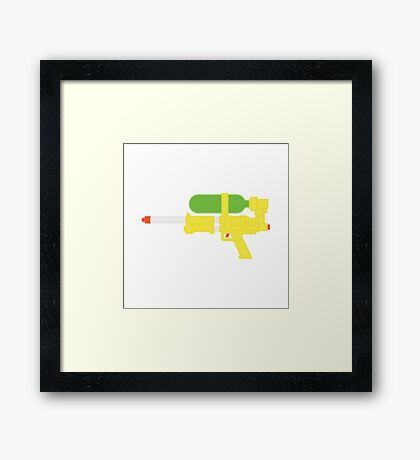 Super Soaker 50 Framed Print