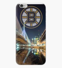 Bruins over Boston iPhone Case