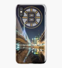 Bruins over Boston iPhone Case/Skin