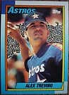 280 - Alex Trevino by Foob's Baseball Cards