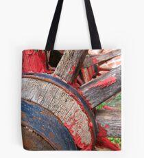 Red wagon dreams Tote Bag