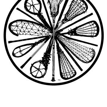 Pure Lacrosse (Black) by vinniericasio